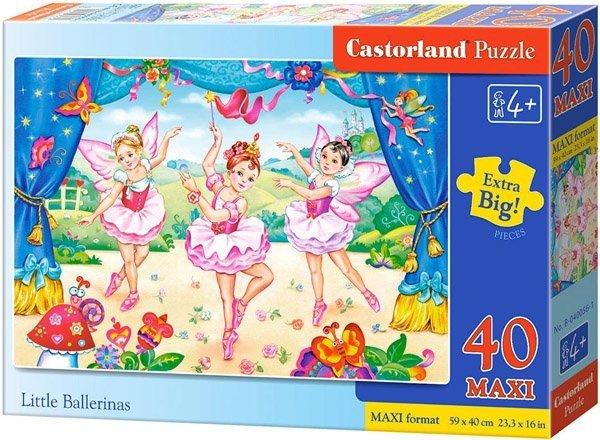 Puzzle 40 Maxi Castorland B-04056  Wróżki - Little Ballerinas