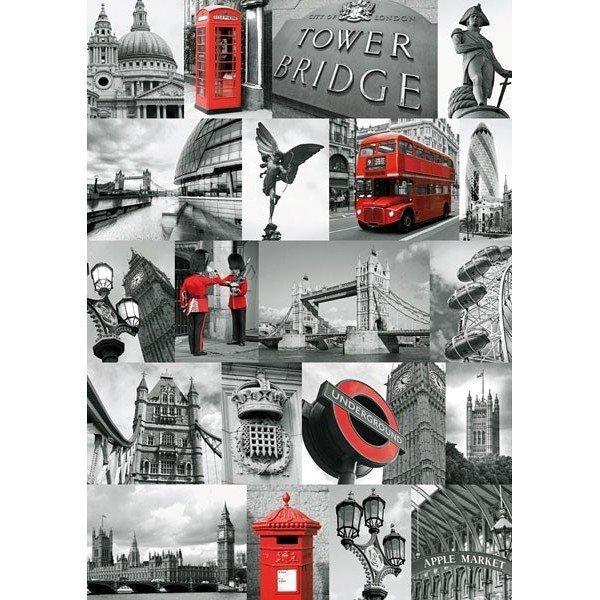 Puzzle 1000 Ravensburger 191444 Londyn - Kolaż