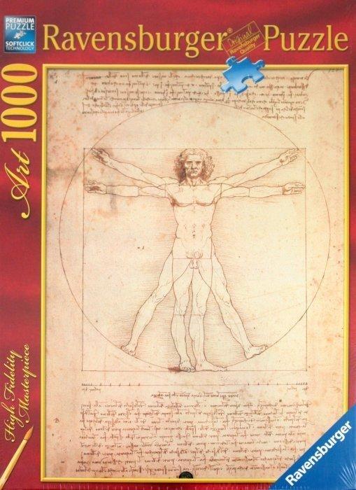 Puzzle 1000 Ravensburger 152506 Da Vinci - Człowiek