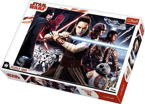 Puzzle 1000 Trefl 10444 Star Wars VIII - Moc jest z Tobą