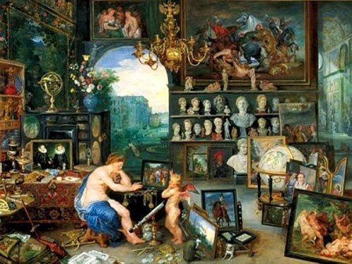 Puzzle 2000 Ravensburger 166589 Alegoria Wzroku