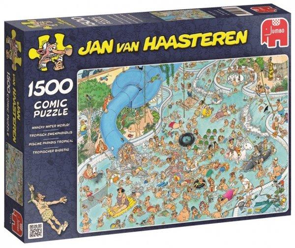 Puzzle 1500 Jumbo 17314 Park Wodny - Jan van Haasteren