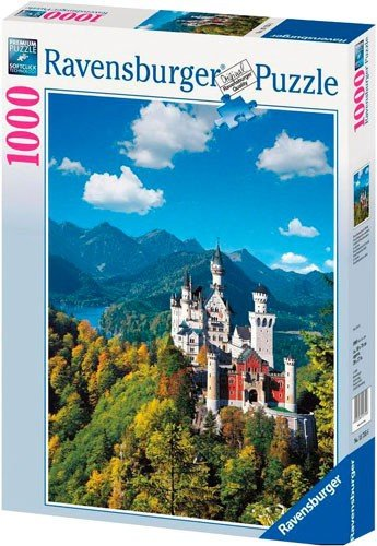 Puzzle 1000 Ravensburger 157556 Zamek Neuschwanstein