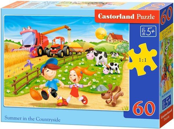 Puzzle 60 Castorland B-06878 Życie na Wsi