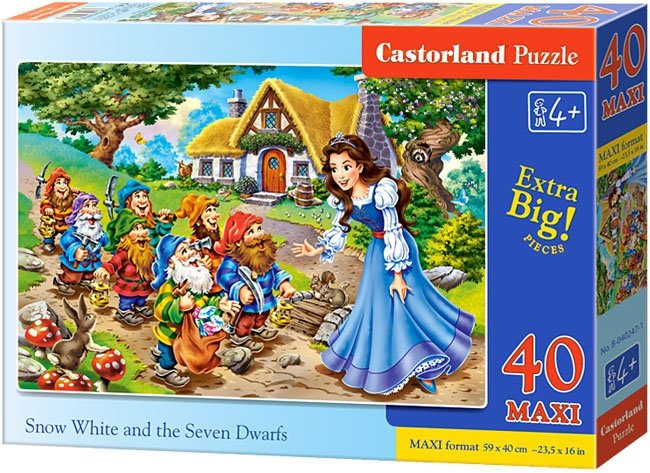 Puzzle 40 Maxi Castorland B-040247 Królewna Śnieżka