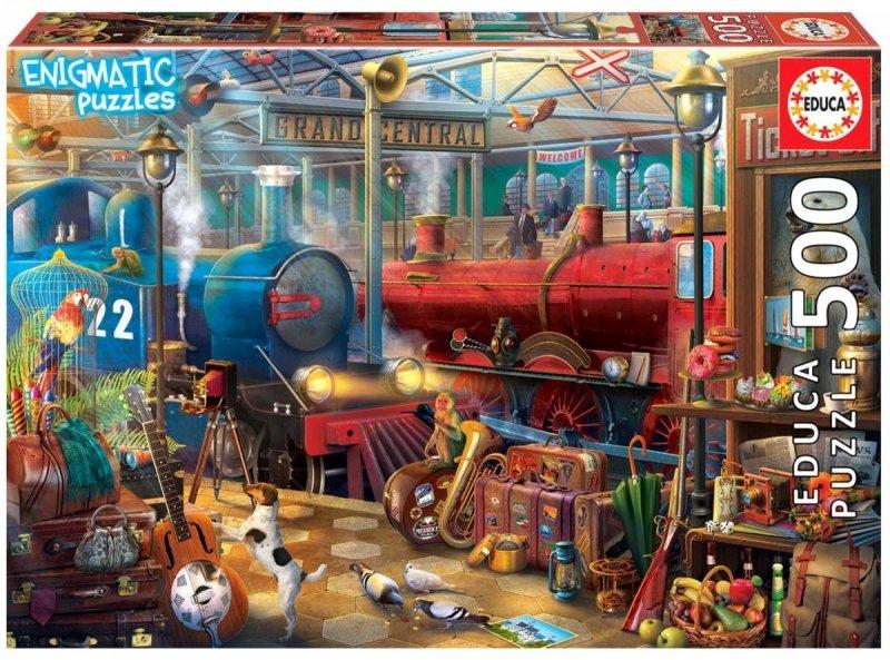 Puzzle 500 Educa 18481 Stacja Kolejowa
