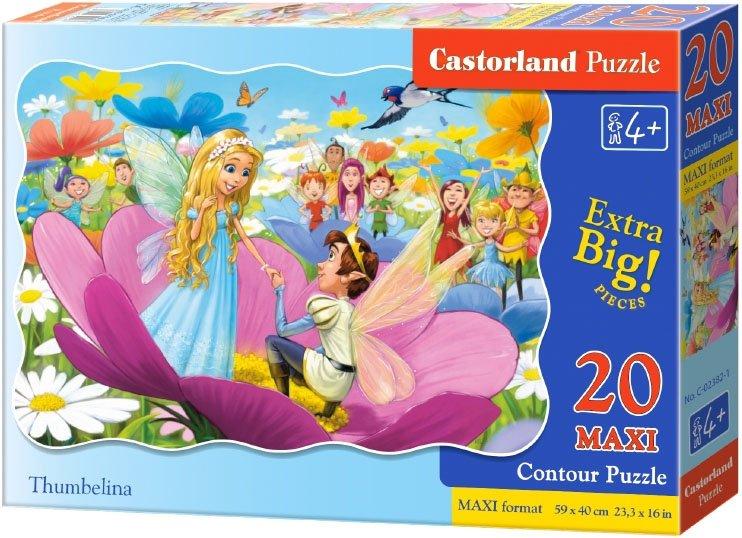Puzzle 20 Maxi Castorland C-02382 Calineczka