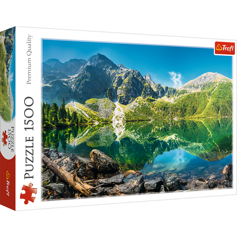 Puzzle 1500 Trefl 26167 Jezioro Morskie Oko - Tatry - Polska