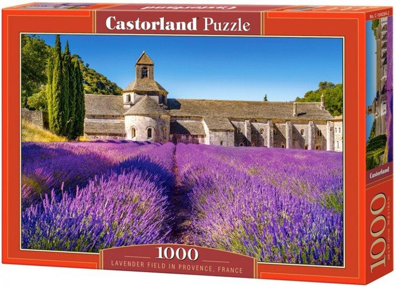 Puzzle 1000 Castorland 104284 Lawendowe Pole w Prowansji - Frank