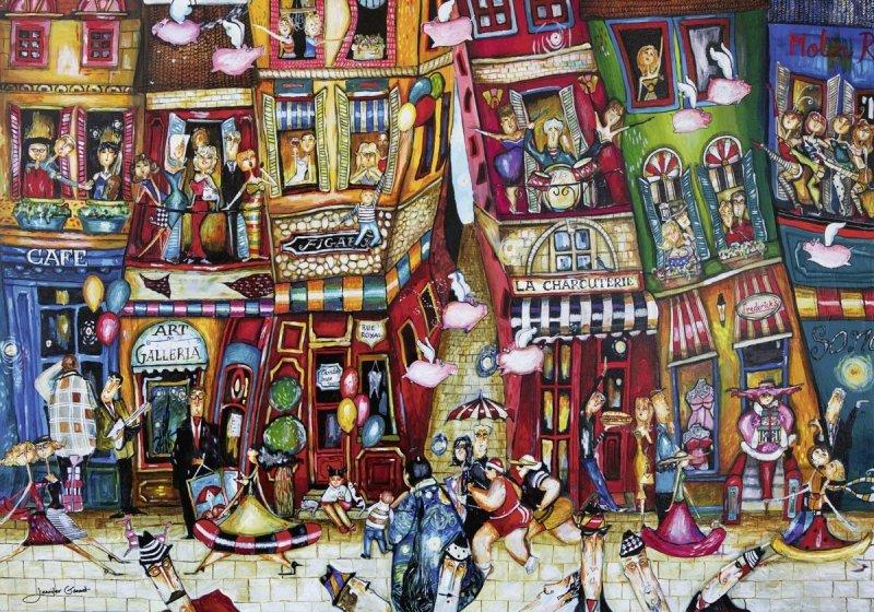 Puzzle 1000 Ravensburger 152759 Fruwające Świnie