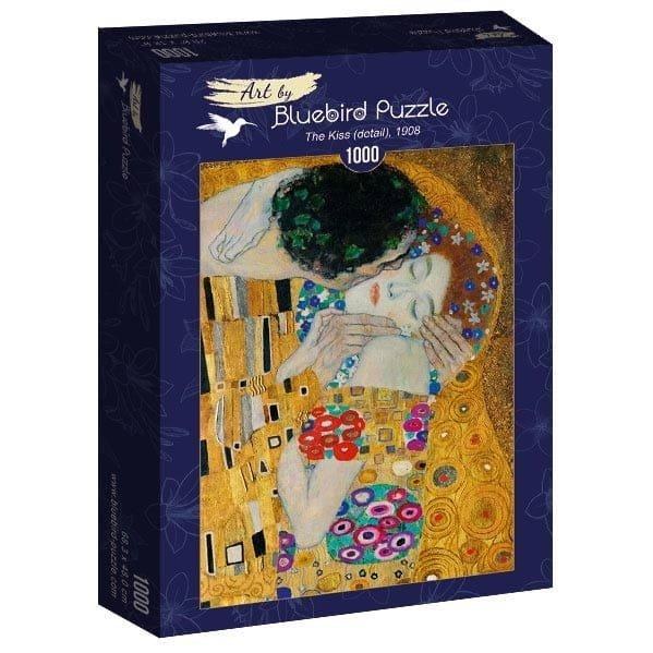 Puzzle 1000 Bluebird 60079 Gustav Klimt - Pocałunek ( Detal ) - 1908