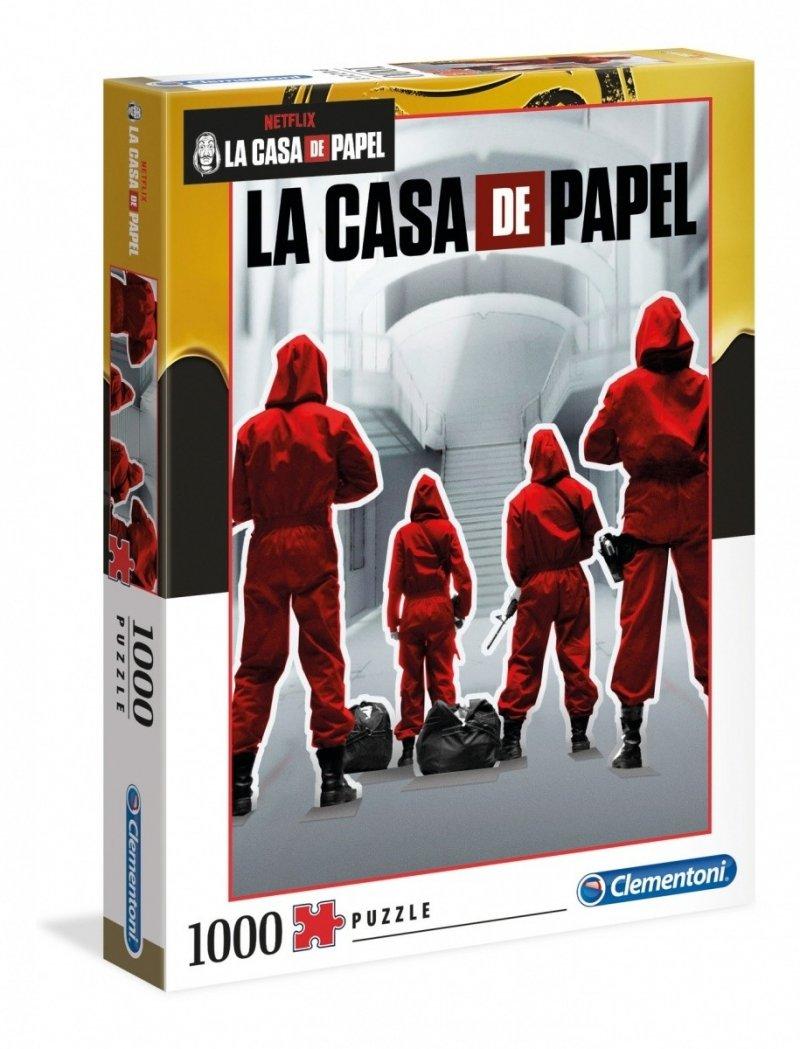 Puzzle 1000 Clementoni 39532 Netflix - Dom z Papieru