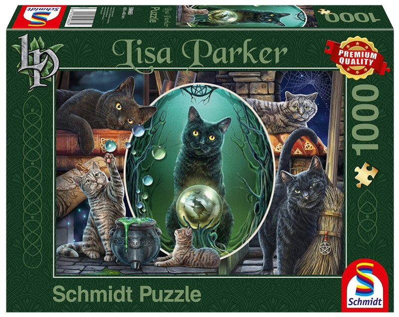 Schmidt 59665 Lisa Parker - Magiczne Koty