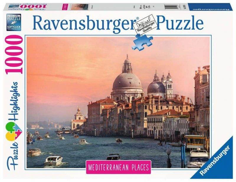 Puzzle 1000 Ravensburger 149766 Śródziemnomorske Włochy