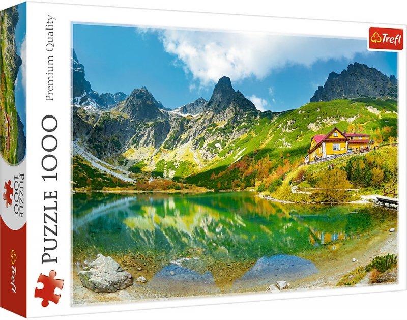 Puzzle 1000 Trefl 10606 Schronisko nad Zielonym Stawem - Tatry - Słowacja