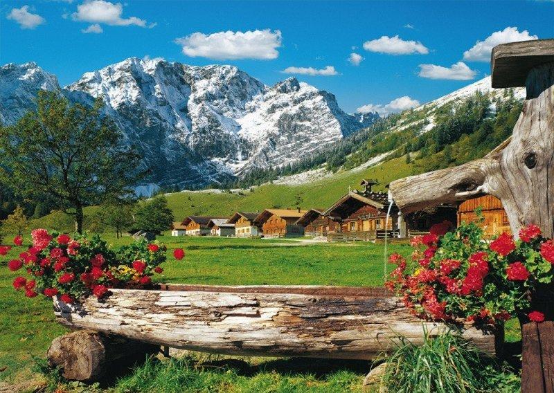 Puzzle 1000 Schmidt 58368 Widok na Góry