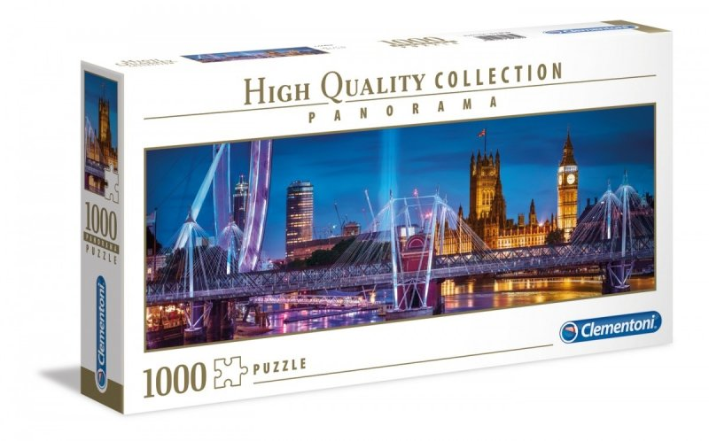 Puzzle 1000 Clementoni 39485 Panorama - Londyn