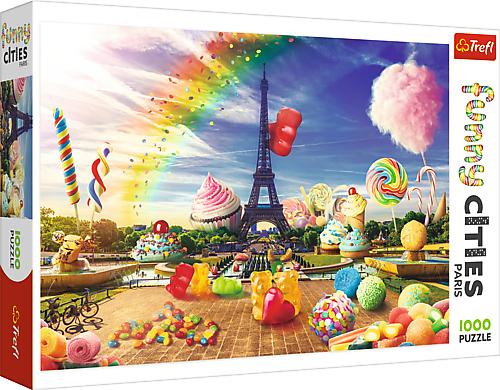 Puzzle 1000 Trefl 10597 Słodki Paryż