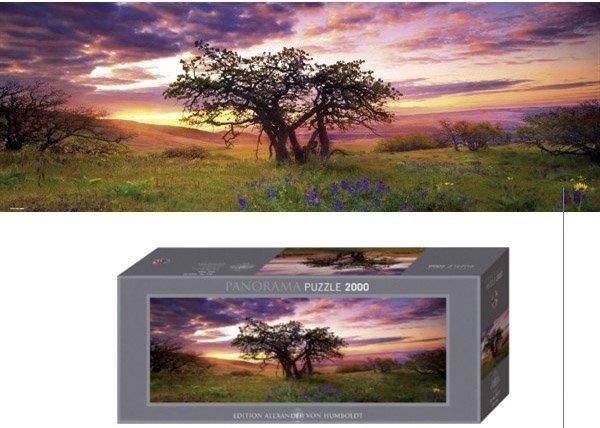 Puzzle 2000 Heye 29472 Teile Oak Tree - Alexander von Humboldt