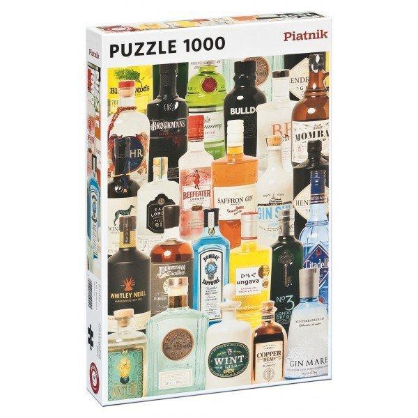Puzzle 1000 Piatnik  P-5494 Gin - Butelki