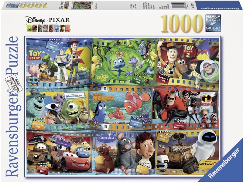 Puzzle 1000 Ravensburger 192229 Disney - Kadry z Bajek