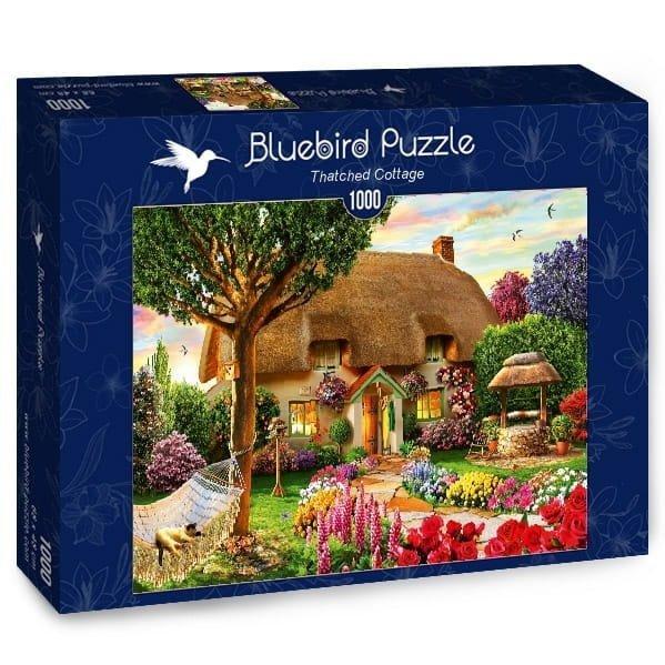 Puzzle 1000 Bluebird 70319 Adrian Chesterman - Domek Kryty Strzechą
