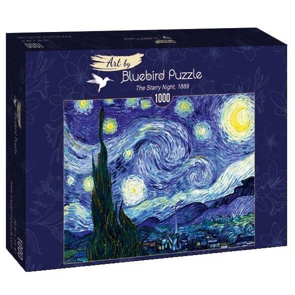Puzzle 1000 Bluebird 60001 Vincent Van Gogh - Gwiaździsta Noc - 1889