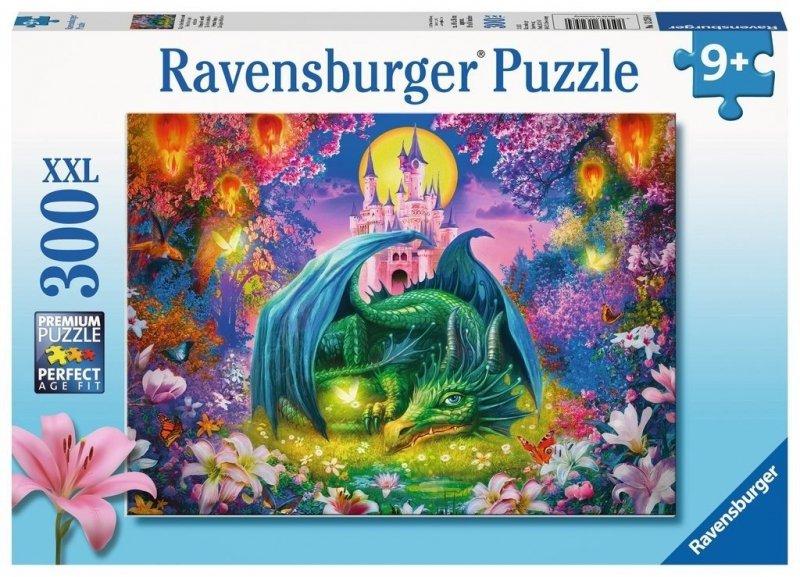 Puzzle 300 Ravensburger 132584 Mistyczny Świat Smoka