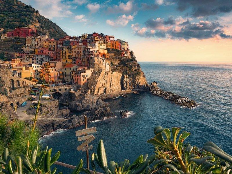 Puzzle 1500 Ravensburger 162277 Widok na Cinque Terre