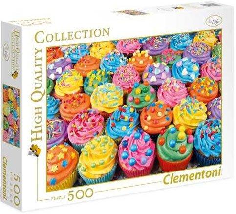 Puzzle 500 Clementoni 35057 Kolorowe Babeczki