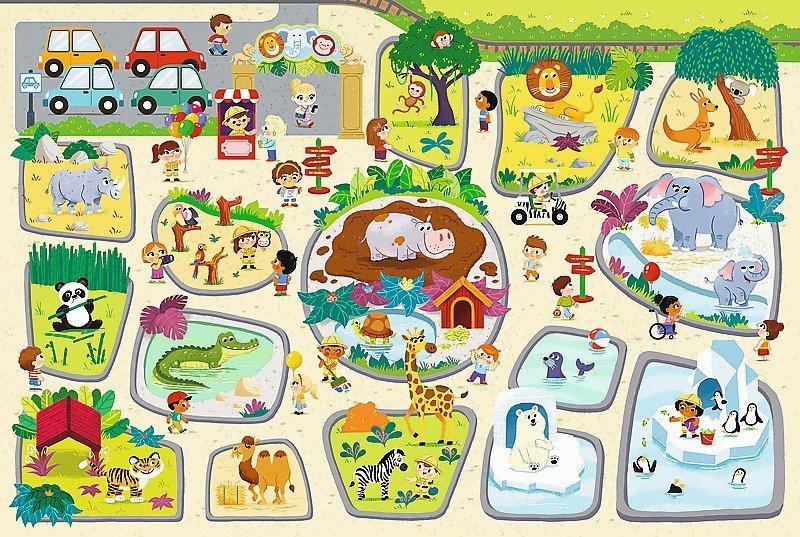 Puzzle Baby Gigantic Trefl T-90756 Zoo