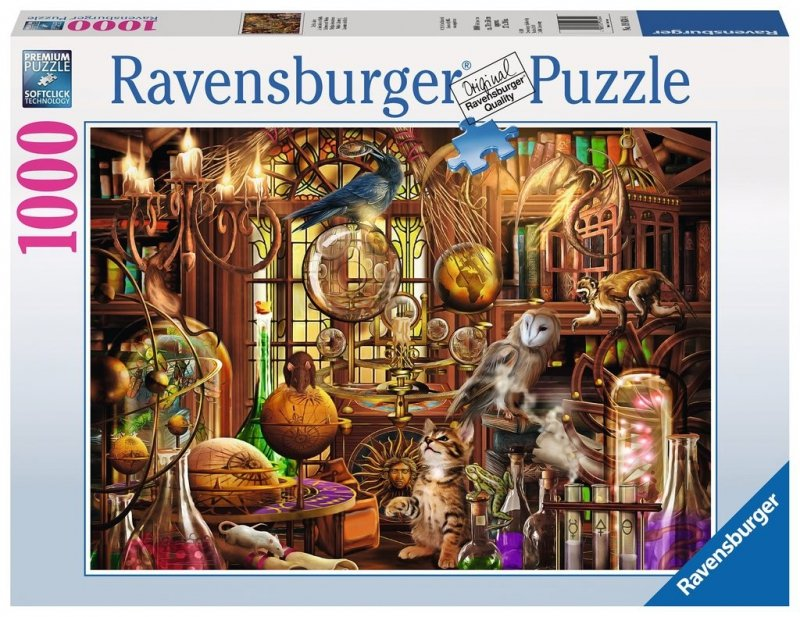 Puzzle 1000 Ravensburger 198344 Labolatorium Merlina
