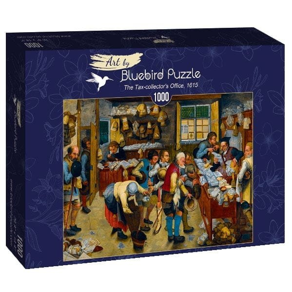 Puzzle 1000 Bluebird 60085 Urząd Poborcy Podatkowego - 1615