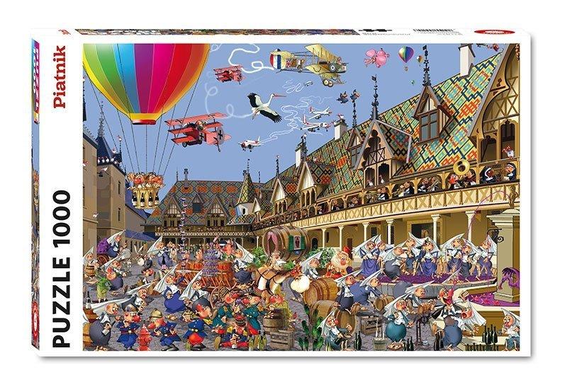 Puzzle 1000 Piatnik P-5512 Ruyer - Aukcja Win