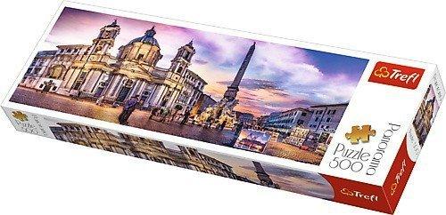 Puzzle 500 Trefl 29501 Panorama - Piazza Navona - Rzym