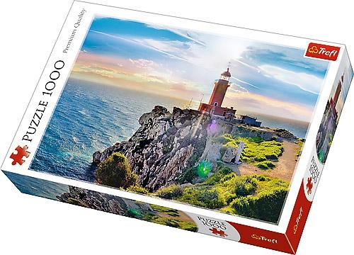 Puzzle 1000 Trefl 10436 Latarnia Morska w Melagavi