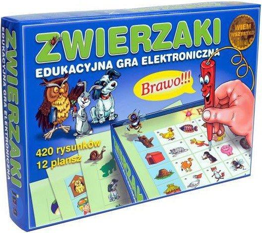 Zwierzaki Edukacyjna Gra Elektroniczna