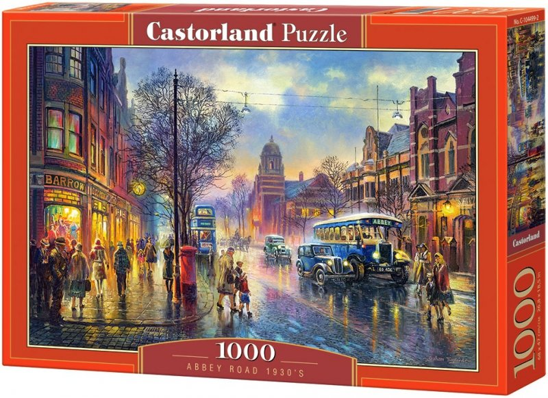 Puzzle 1000 Castorland 104499 Londyn - Abbey Road 1930