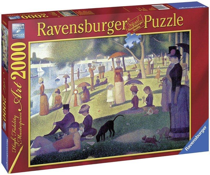 Puzzle 2000 Ravensburger 166169 Seurat - La Grand Jatte