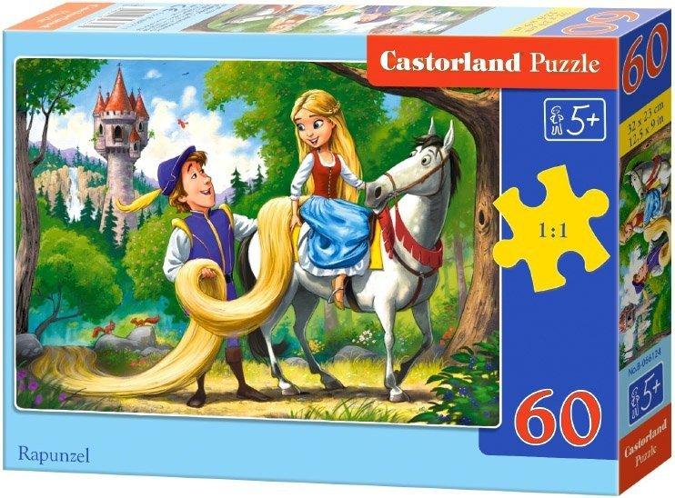 Puzzle 60 Castorland B-066124 Roszpunka