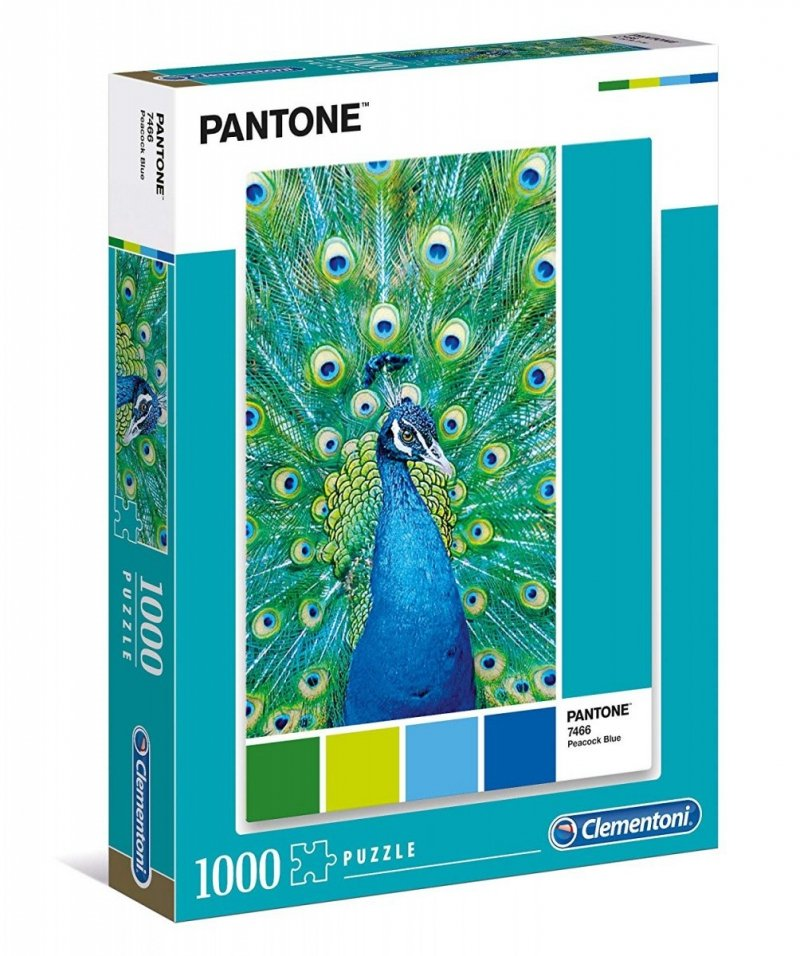 Puzzle 1000 Clementoni 39495 Pantone - Niebieski Paw
