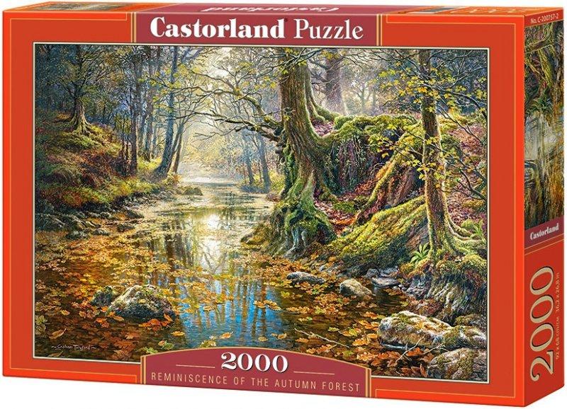 Puzzle 2000 Castorland C-200757 Jesienny Las