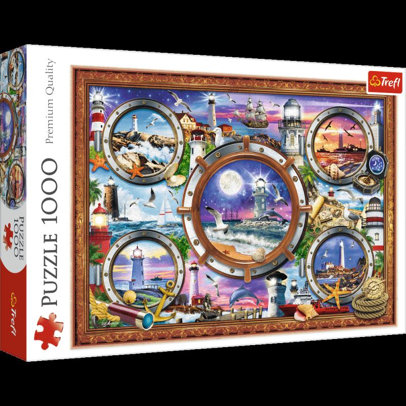 Puzzle 1000 Trefl 10584 Latarnie Morskie