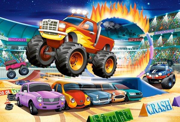 Puzzle 40 Maxi Castorland B-040308 Monster Truck