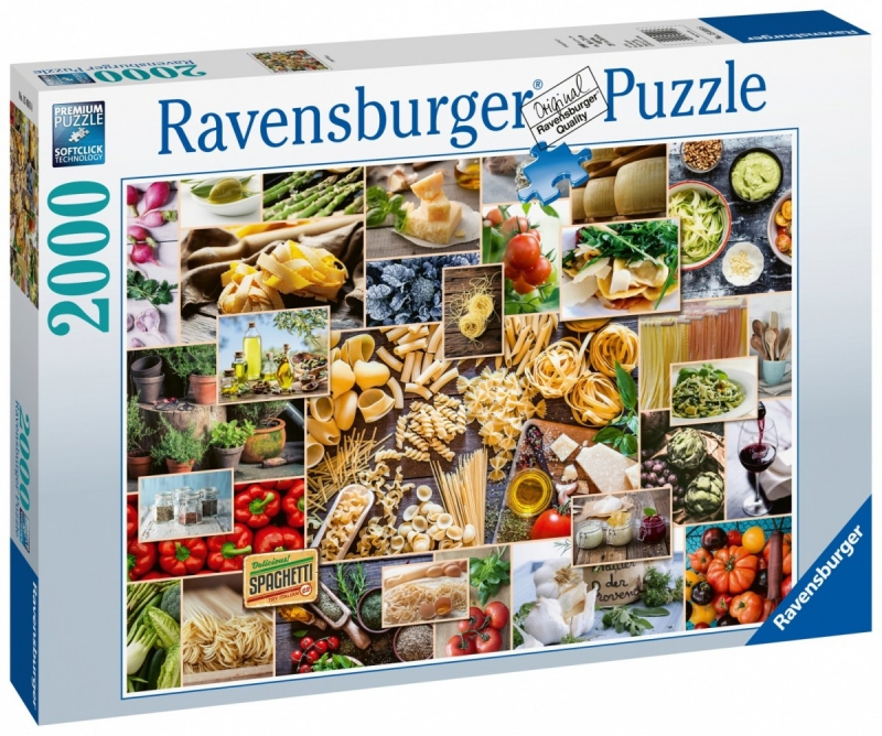 Puzzle 2000 Ravensburger 150168 Kolaż - Jedzenie