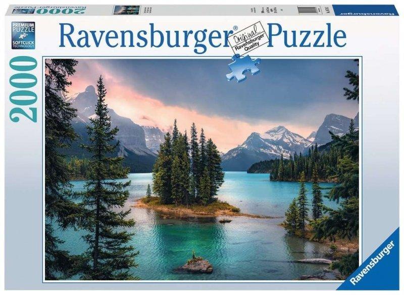 Puzzle 2000 Ravensburger 167142 Wyspa Duchów - Kanada