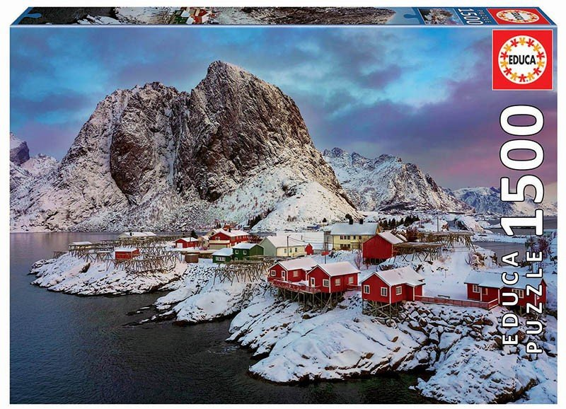 Puzzle 1500 Educa 17976 Wyspy Lofoten Norwegia