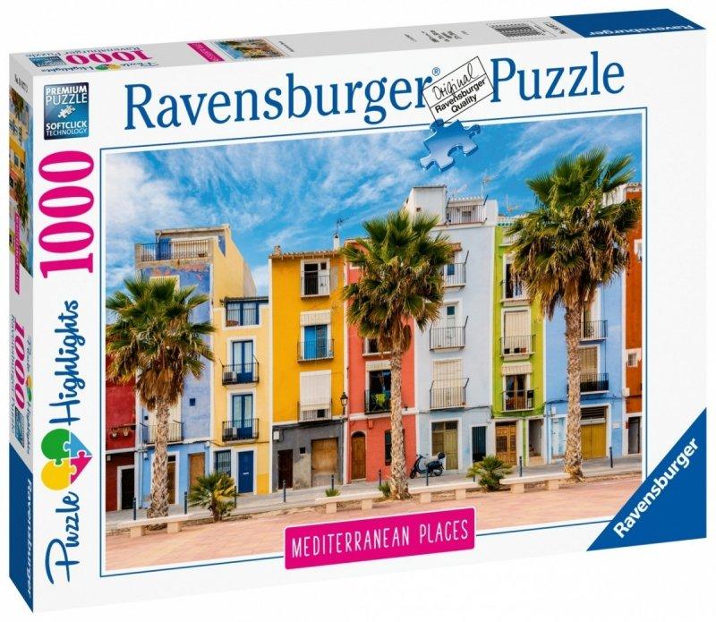 Puzzle 1000 Ravensburger 149773 Środziemnomorska Hiszpania