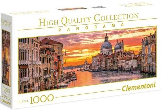 Puzzle 1000 Clementoni 39426 Wenecja o Zachodzie Słońca - Panorama