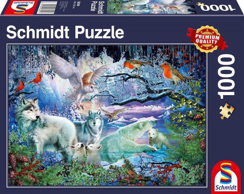 Puzzle 1000 Schmidt 58349 W Zimowym Lesie